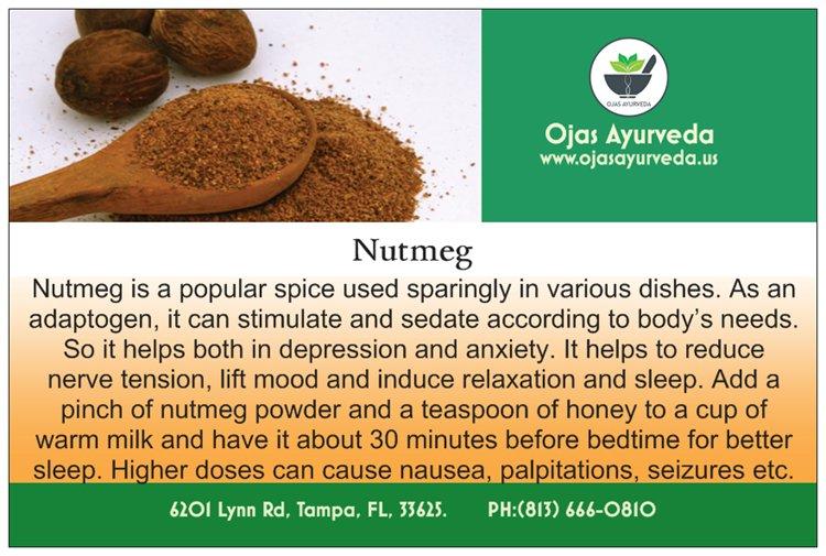Nutmeg - An adaptogen