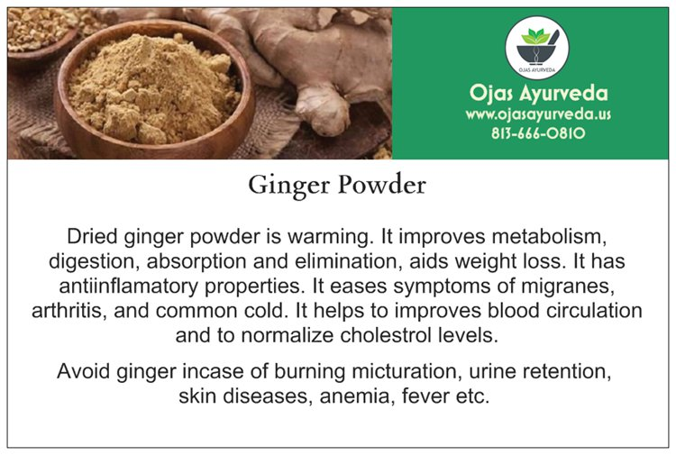 Ginger Powder - for better metabolism
